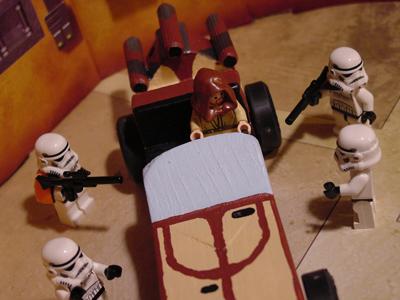 Obi Wan Kenobi Pinewood Derby Appearance Non Canonical